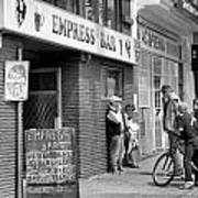 Empress Bar Poster