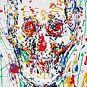 Enamels Skull Painting Poster