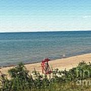 End Of The Season At Wendt Beach Park Poster