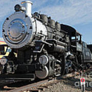 Engine 4455 In The Colorado Railroad Museum Poster