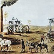 England 18th C.. Industrial Revolution Poster