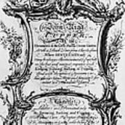England: Cupper, 1700s Poster