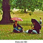 English 101 Poster