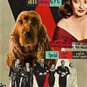 English Cocker Spaniel Art - All About Eve Poster
