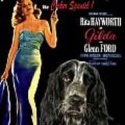 English Cocker Spaniel Art - Gilda Poster