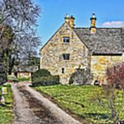 English Farmhouse Poster