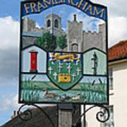 English Market Town Poster