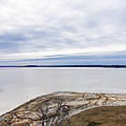 Enid Lake - Winter Landscape Poster