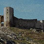 Enisala Fortress Canvas Poster
