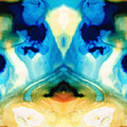 Enlightenment - Abstract Art By Sharon Cummings Poster