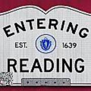 Entering Reading Poster