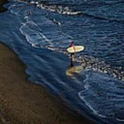 Entering The Ocean. Poster