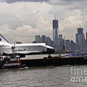 Enterprise To The Intrepid Air And Space Museum Poster
