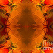 Entertaining Energy Abstract Pattern Artwork By Omaste Witkowski Poster