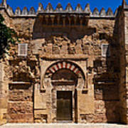Entrance To The 10th Century Mezquita Poster
