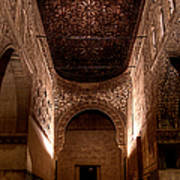 Entrance To The Ambassadors Hall In The Alhambra Poster