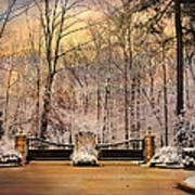 Entrance To Winter Poster