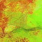 Envision Orange Green Poster