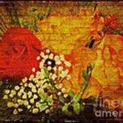 Envoi De Fleurs Poster