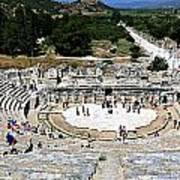 Theater Of Ephesus Poster