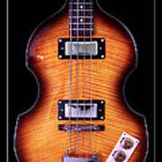 Epiphone Viola Bass Guitar Poster