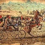 Equestrian Folklore Poster by Ernestine Manowarda