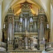 Erfurt Pipe Organ Poster