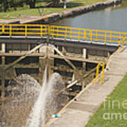 Erie Canal Lock Poster