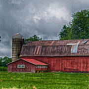 Erie County Barn 03452 Poster