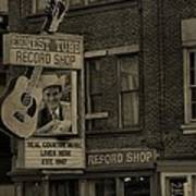 Ernest Tubb Record Shop Poster