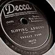 Ernest Tubb Vinyl Record Poster