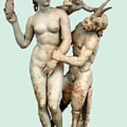 Aphrodite, Pan And Eros Poster