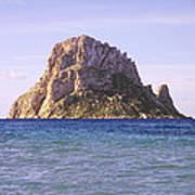 Es Vedra Rock Island Of Ibiza Poster