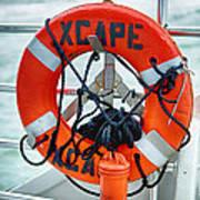 Escape To The Sea Poster