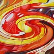 Espiral De Colores Poster
