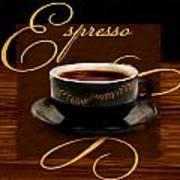 Espresso Passion Poster