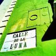 Esquina Con La Luna Poster
