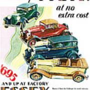 Essex Challenger Vintage Poster Poster