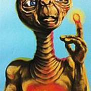 E.t. The Extra Terrestrial  Poster