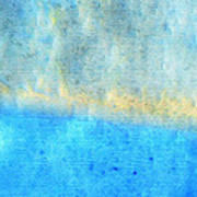 Eternal Blue - Blue Abstract Art By Sharon Cummings Poster