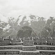 Ethereal Machu Picchu Poster