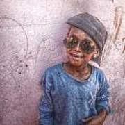 Ethiopian Boy Poster