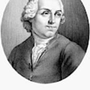 Etienne Bonnot De Condillac(1715-1780) Poster