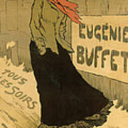 Eugenie Buffet Poster Poster