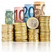 Euro Currency Poster