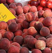 European Markets - Peaches And Nectarines Poster