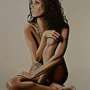 Eva Longoria Painting Poster
