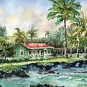 Eva Parker Woods Cottage Poster