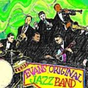 Evans Original Jazz Band Poster