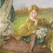Evelyn Poster by Annie Louisa Swynnerton